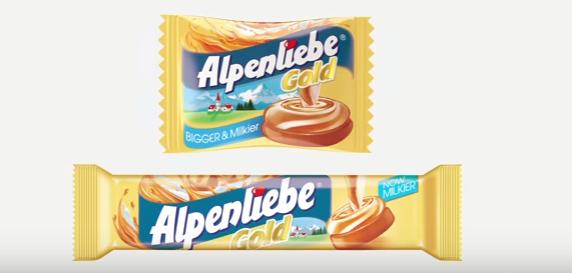 """Chhoti Chhoti Khushiyon ke liye"" Alpenliebe Gold"