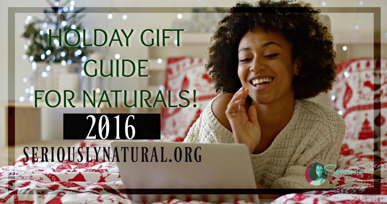 2016 Natural Hair Holiday Gift Guide