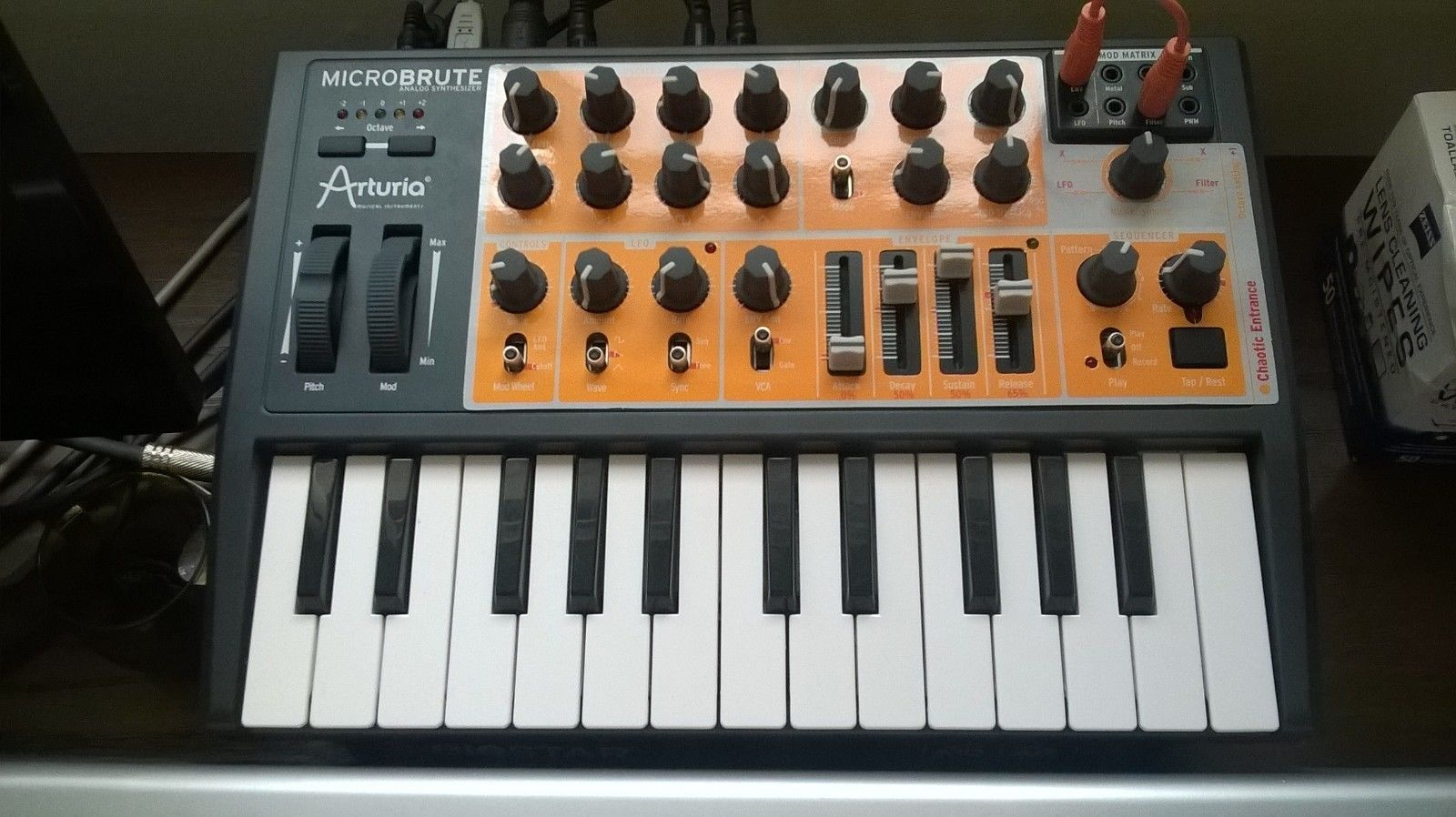 Matrixsynth Arturia Microbrute Synthesizer With Preset