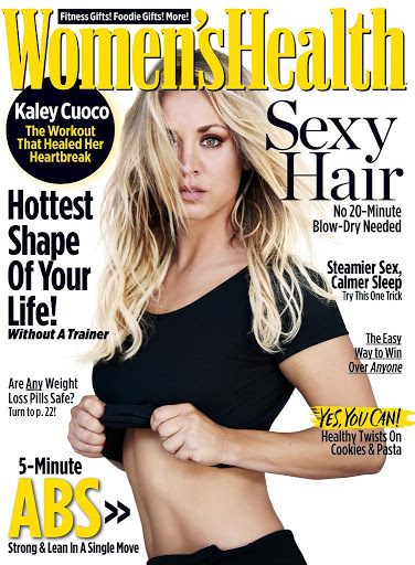Kaley Cuoco sexy photoshoot Women's Health Magazine