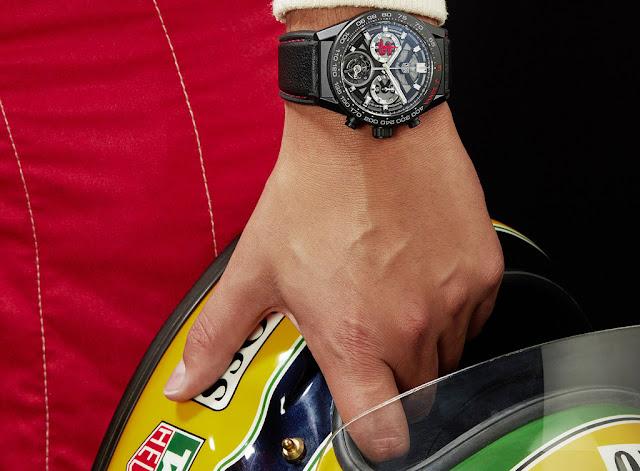 TAG Heuer Carrera Calibre Heuer 02T Senna Edition
