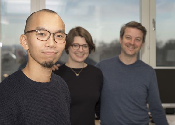 Clave para entender el Vitiligo │Stanley Cheuk, Liv Eidsmo och Yenan Bryceson. Photo: Stefan Zimmerman