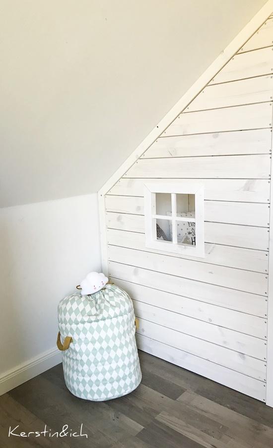 DIY Hausbett Bett Kinderzimmer Selbermachen Kidsroom Haus