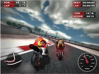 Game Balap Motor PC Ringan Superbike Racers