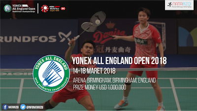 Jadwal All England 2018