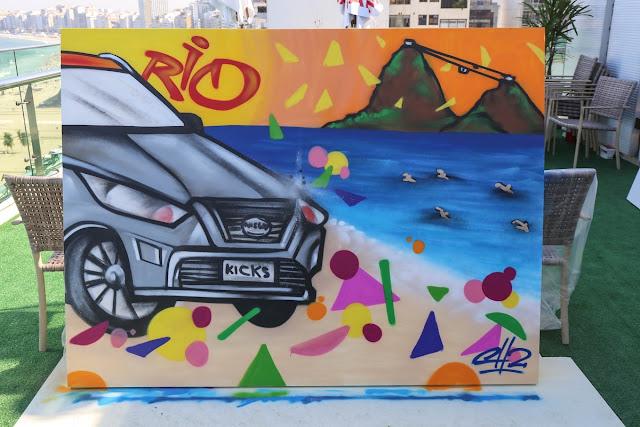 Nissan comparte el arte de las calles en Río