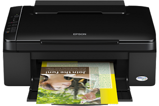 is a compact printer amongst scan too re-create functionality Epson Stylus TX111 Driver Download