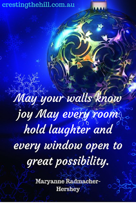 May your walls know joy; May every room hold laughter