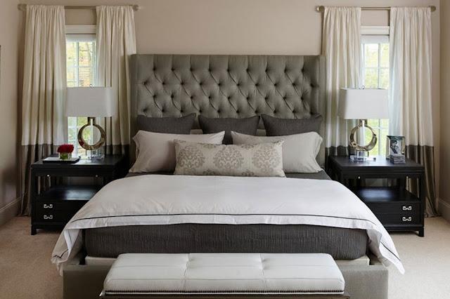 5 صيحات في ديكورات غرف نوم بدرجات الرمادي