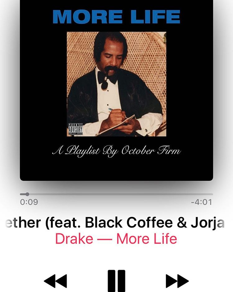 Drake Features DJ Black Coffee Sample In More Life But Not With Jennifer Lopez Vocals.