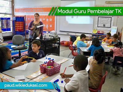 Modul Guru Pembelajar untuk tingkat TK Lengkap Terpadu