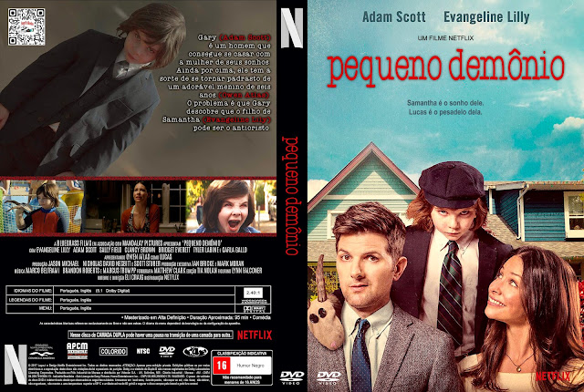 Capa DVD Pequeno Demônio [Custom]