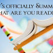 Reading, Writing and Chocolate: My three favorite things ...: Summer Reading