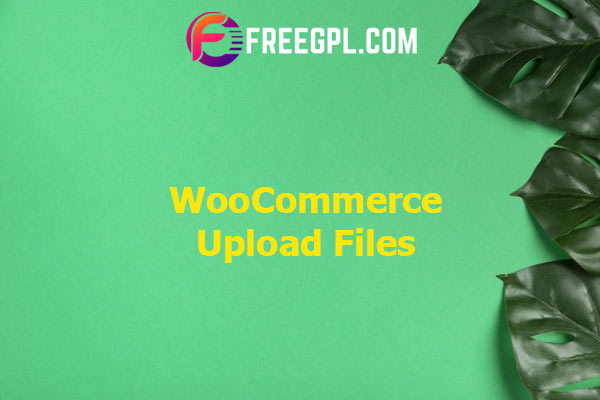 WooCommerce Upload Files Nulled Download Free