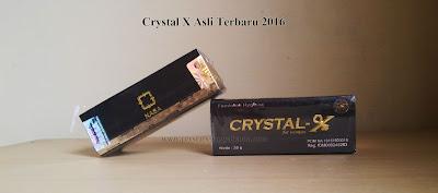 Kemasan Crystal x Asli 2016