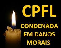 danos morais cpfl em sorocaba são paulo