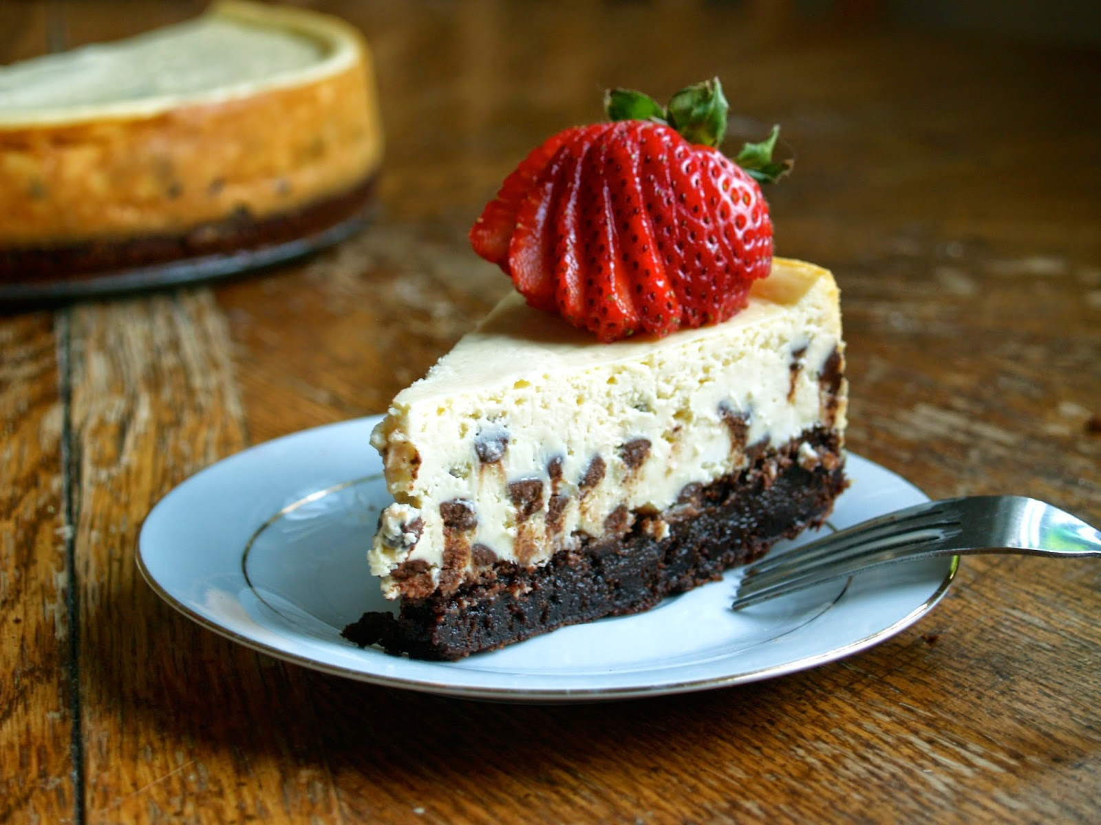 Hungry Hungry Highness Brownie Cheesecake