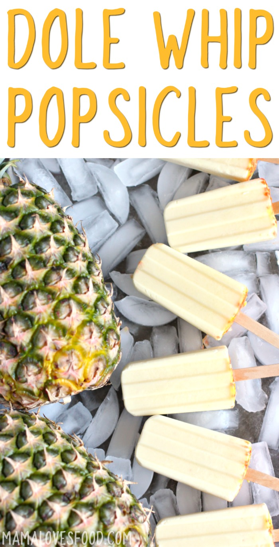 Copycat Dole Whip Creamy Pineapple Recipe