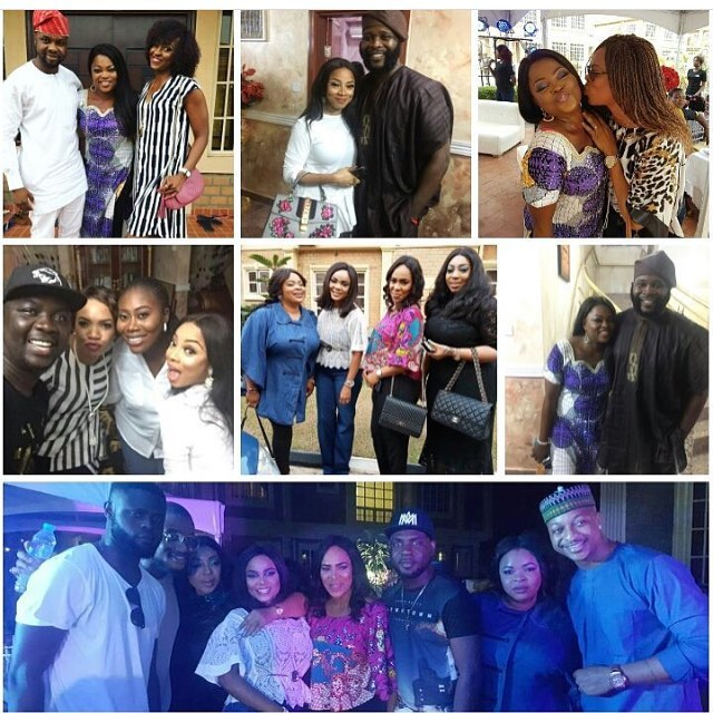 NOLLYWOOD ACTRESS FUNKE AKINDELE AND HUSBAND JJC'S STAR STUDDED HOUSE WARMING PARTY (BEAUTIFUL PHOTOS)