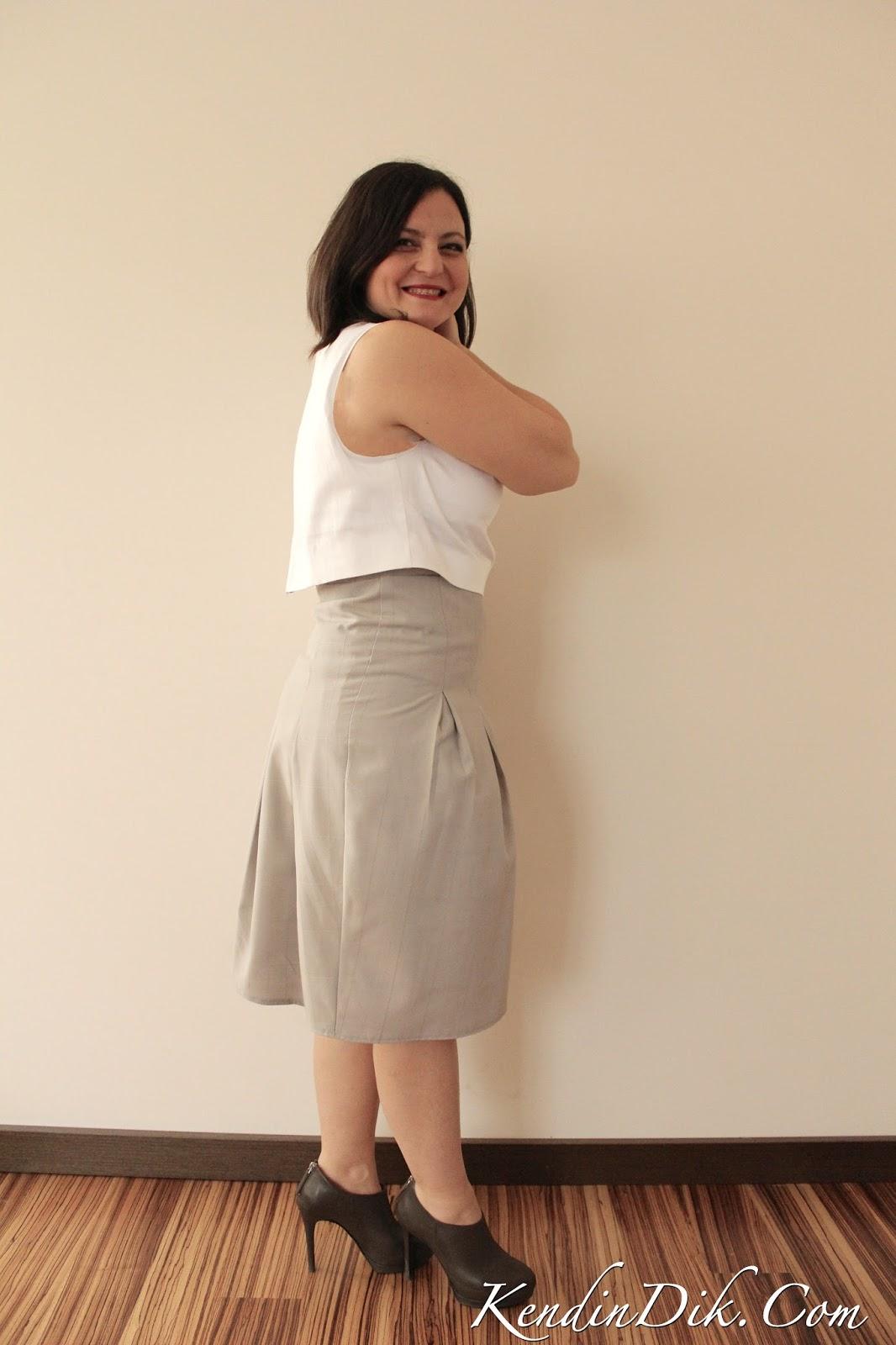 elbise ölçülerini vücuda uydurmak