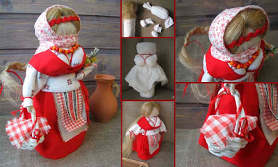 Кукла Пасха Вербница