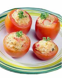 Resep Tomat isi Crab Stick