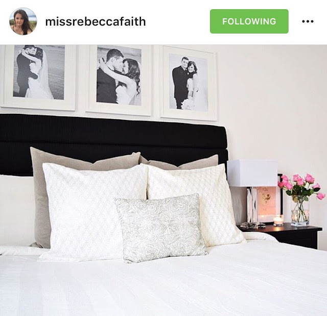 Inspiration on how to style your bedroom, featuring some of the most beautiful real-life homes from social media