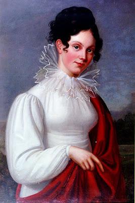 Portrait de Wilhemine Herzlieb, Louise Seidler