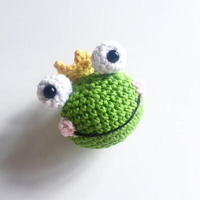 Häkelblog - Täglich neue Anleitungen: Frosch Prinzessin ...