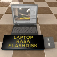 Laptop IBM Rasa Flash Disk