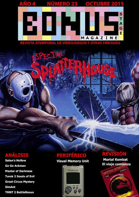 Bonus Stage Magazine #23 Especial Splatterhouse (23)