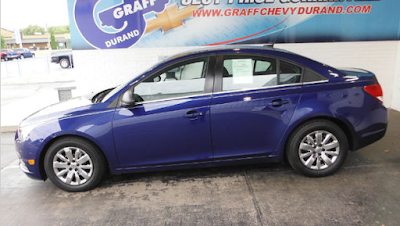 Pick of the Week – Certified Pre-Owned 2012 Chevrolet Cruze