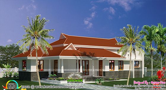 27 lakh budget 1580 sq-ft home