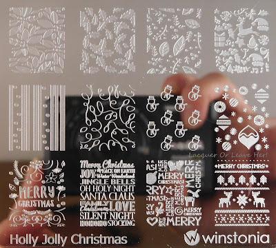 Winstonia Holly Jolly Christmas