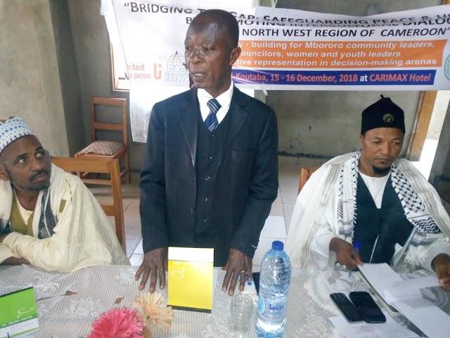 MBOSCUDA empowers Community Leaders in Koutaba