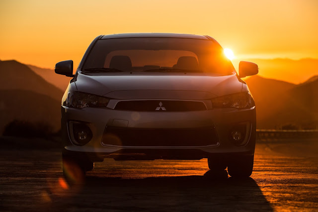 Front view of 2016 Mitsubishi Lancer