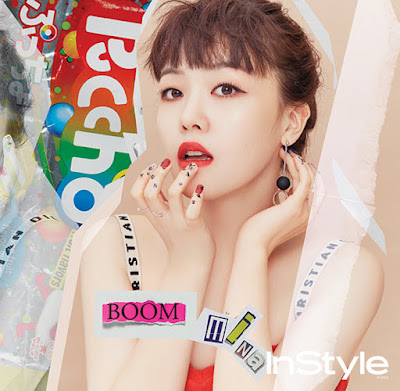 Minah Girl's Day InStyle July 2017