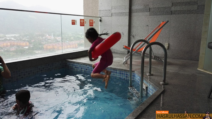 Foto Mandi Kolam Executive Pool Suite - Lexis Suites Penang
