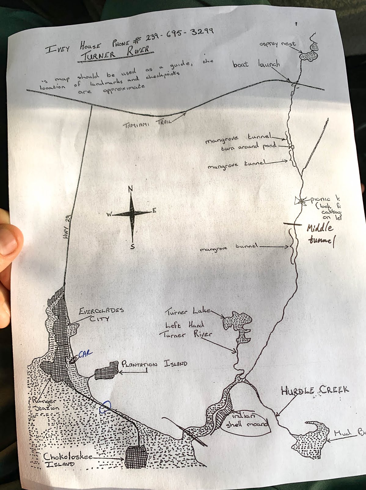 hight resolution of we settled on doing the length of the turner river which would let us experience the freshwater to saltwater transition in addition to the mangrove tunnels