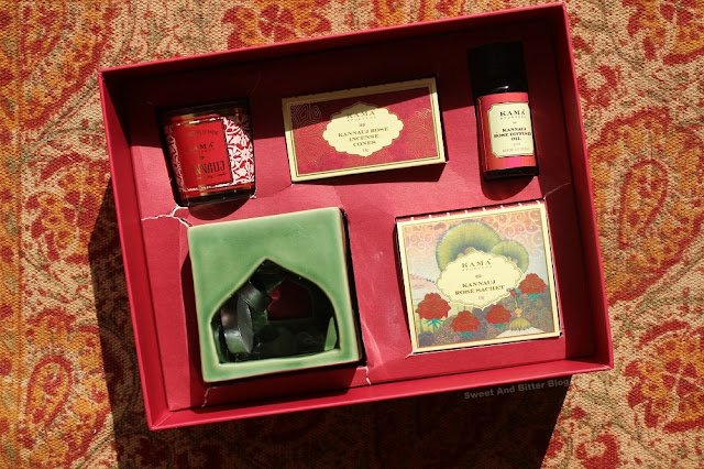 Kama Ayurveda Kannauj Rose Gift Box for Diwali