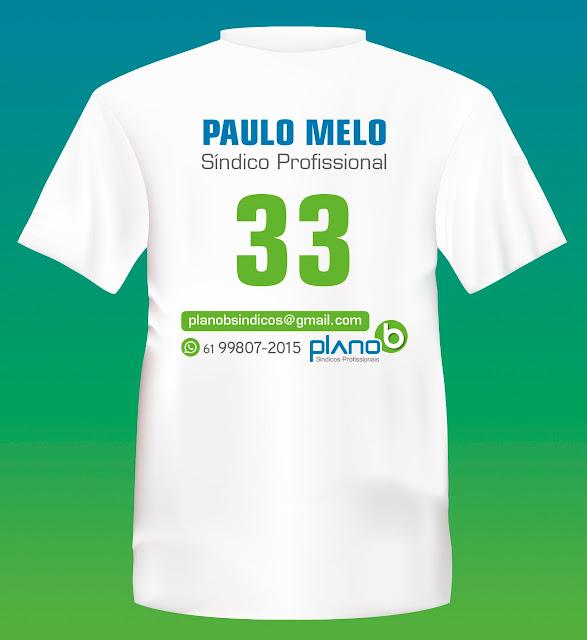 Paulo Melo é do time Plano B Síndicos Profissionais