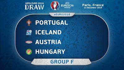 Keputusan EURO 2016 Kumpulan F