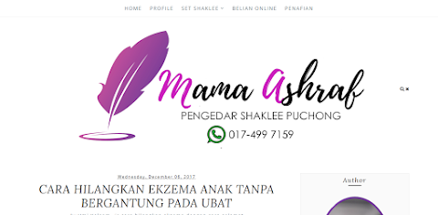 Editing Blog Mama Ashraf