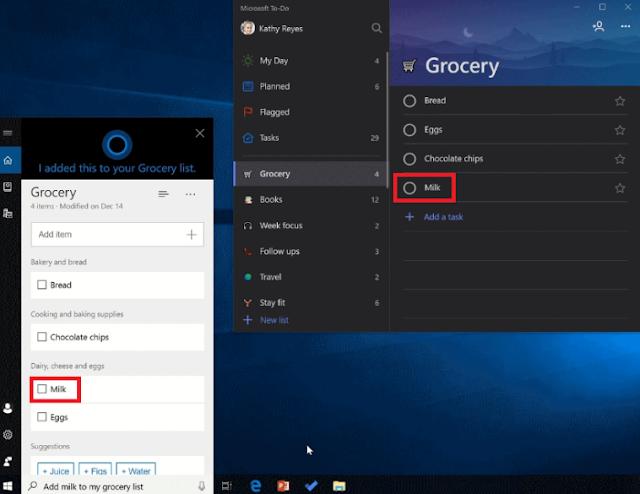يحصل كورتانا على تكامل Microsoft To-Do