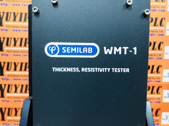 SEMILAB WMT-1 WML-1 SILICON PV WAFERS THICKNESS AND RESISTIVITY MEASUREMENT,Thickness is a primary control parameter of silicon PV wafers. By filtering out wafers with non-standard thickness and shape, waste from wafer/cell breaking can be reduced.