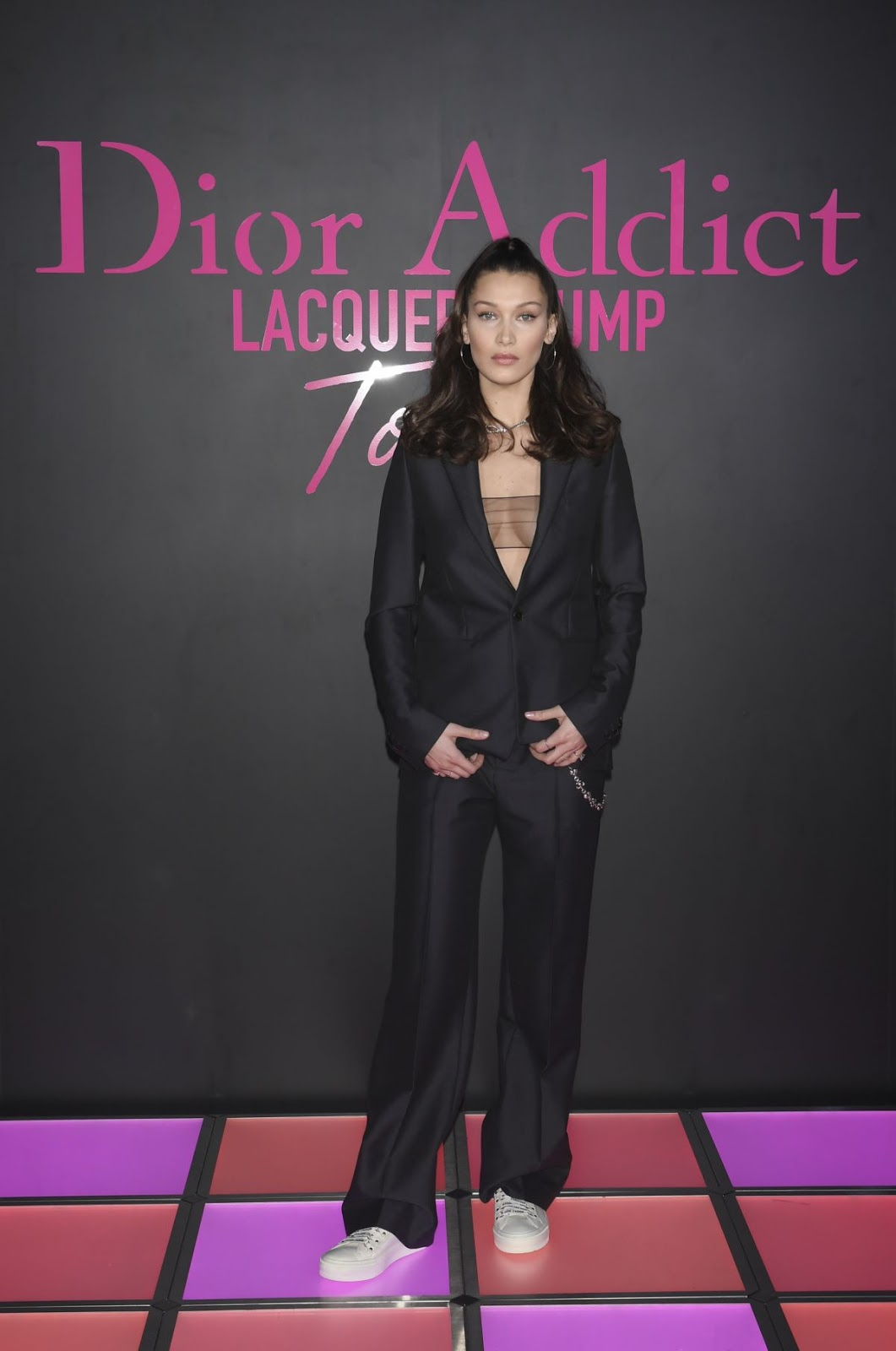 Bella Hadid attends Dior Beauty party in Tokyo