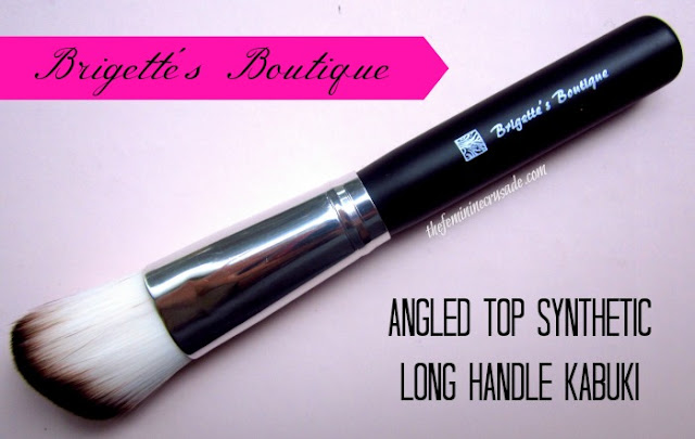 Picture of Brigette's Boutique Angled Top Synthetic Long Handle Kabuki