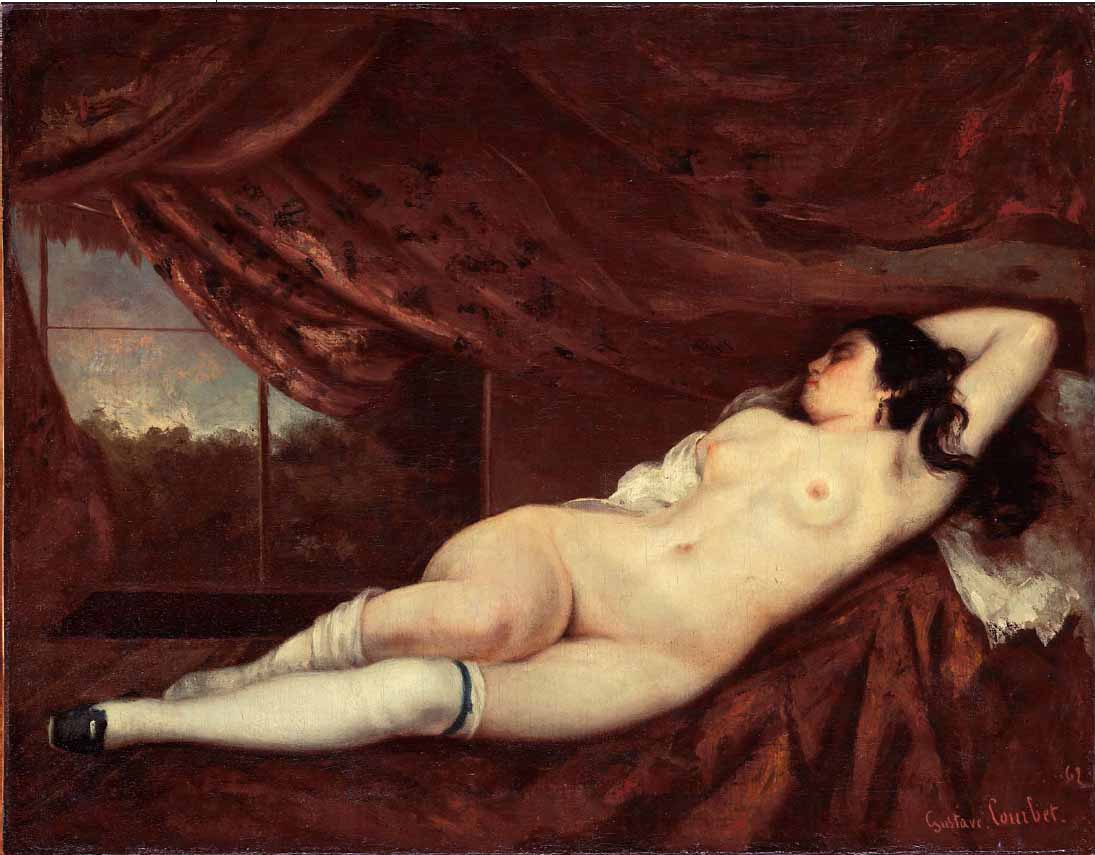 Where Is Ariadne Gustave Courbet-6482