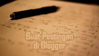 Buat Postingan Blogger