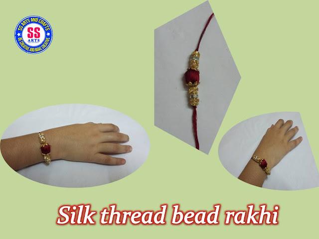 Here is silk thread jewellery,silk thread rakhi for raksha bandhan,silk thread bead rakhi making at home,pearl rakhi,designer rakhi,silk thread fancy rakhi making at home,how to make silk thread bead rakhi for raksha bandhan ssarts youtube channel videos
